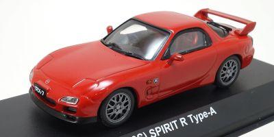 KYOSHO 1/43scale Mazda RX-7 (FD3S) Spirit R Type-A Vintage Red [No.KS03703R]
