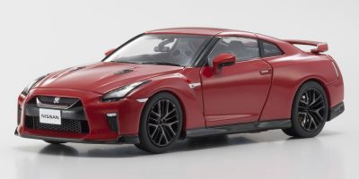 KYOSHO 1/43scale Nissan GT-R 2017 Red  [No.KS03893R]
