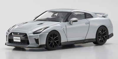 KYOSHO 1/43scale Nissan GT-R 2017 Silver  [No.KS03893S]