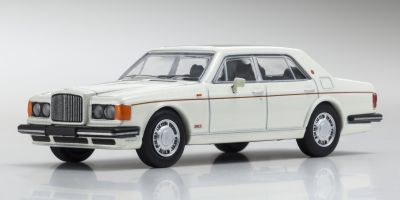 KYOSHO 1/64scale Bentley TurboR White Pearl [No.KS07043A1]
