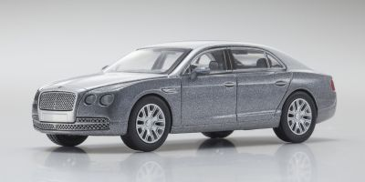 KYOSHO 1/64scale Bentley Flying Spur Silver/LightGray [No.KS07043A14]