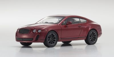 KYOSHO 1/64scale Bentley Continental Supersports Red metallic [No.KS07043A3]