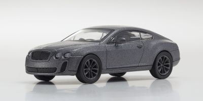 KYOSHO 1/64scale Bentley Continental Supersports Gray [No.KS07043A4]