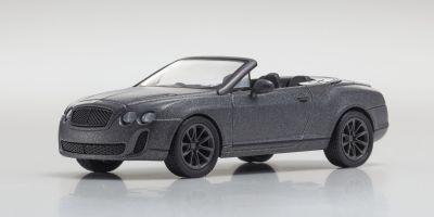 KYOSHO 1/64scale Bentley ContiS.SportsConv Gray metallic [No.KS07043A5]
