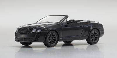KYOSHO 1/64scale Bentley ContiS.SportsConv Black [No.KS07043A6]