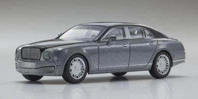 KYOSHO 1/64scale Bentley Mulsanne LightGray/Silver [No.KS07043A7]