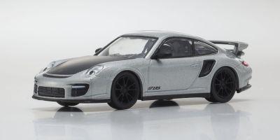 KYOSHO 1/64scale Porsche 911 GT2 RS Silver [No.KS07048A11]