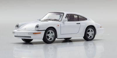 KYOSHO 1/64scale Porsche 911 RS 964 White [No.KS07048A4]