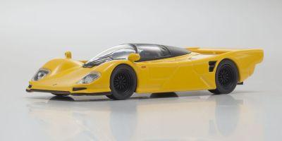 KYOSHO 1/64scale Porsche 962C Yellow [No.KS07048A5]