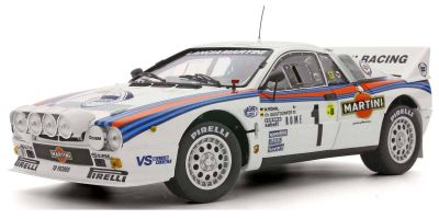 KYOSHO ORIGINAL 1/18scale Lancia Rally 037 1983 Monte Carlo # 1 (clear coat finish)  [No.KS08306A]