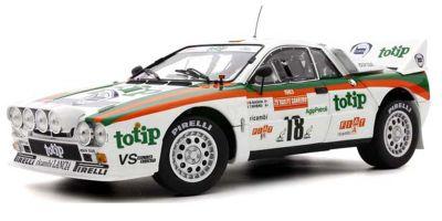 KYOSHO ORIGINAL 1/18scale Lancia Rally 037 1983 Sanremo # 18 (clear coat finish)  [No.KS08306B]