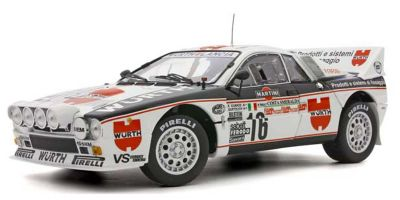 KYOSHO ORIGINAL 1/18scale Lancia Rally 037 1983 Costa Smeralda # 16 (clear coat finish)  [No.KS08306C]