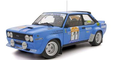 KYOSHO ORIGINAL 1/18scale Fiat 131 Abalt Rally 1980 San Remo # 11  [No.KS08376C]