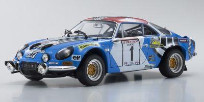 KYOSHO ORIGINAL 1/18scale Renault Alpine A110 1973 Tour de Corse # 1  [No.KS08485A]