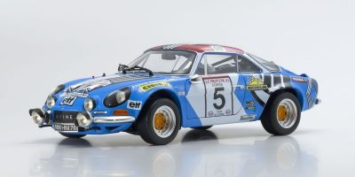 KYOSHO ORIGINAL 1/18scale Renault Alpine A110 1973 Tour de Corse #5  [No.KS08485B]