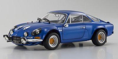 KYOSHO ORIGINAL 1/18scale Renault Alpine A110 1973 Blue Metallic  [No.KS08485BL]