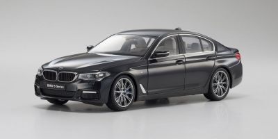 KYOSHO ORIGINAL 1/18scale BMW 5 Series (G30) Black Sapphire  [No.KS08941BK]