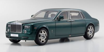 KYOSHO 1/18scale Rolls Royce Phantom Extended Wheel Base Brook lace Green  [No.KS08841BG]