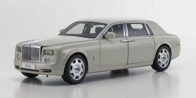 KYOSHO 1/18scale Rolls-Royce Phantom EXTENDED WHEEL BASE Carrara White [No.KS08841CW]