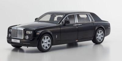 KYOSHO 1/18scale Rolls-Royce Phantom EXTENDED WHEEL BASE Diamond Black [No.KS08841DBK]
