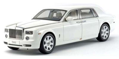 KYOSHO ORIGINAL 1/18scale Rolls-Royce Phantom EWB (English White)  [No.KS08841EW]