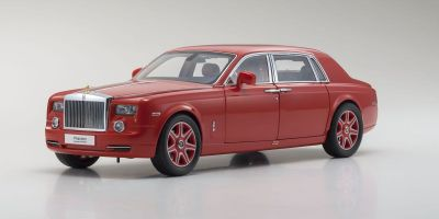 KYOSHO ORIGINAL 1/18scale Rolls-Royce Phantom EXTENDED WHEEL BASE (Light red)  [No.KS08841LR]