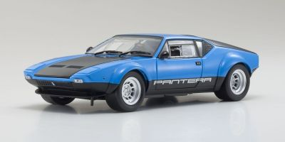 KYOSHO ORIGINAL 1/18scale De Tomaso Pantera GT4 (Blue/Black)  [No.KS08853BL]