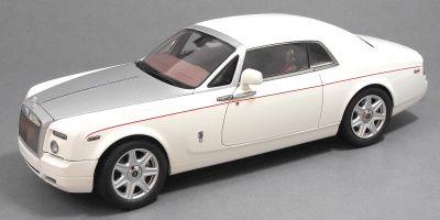 KYOSHO 1/18scale Rolls-Royce Phantom Coupe English White  [No.KS08861EW]