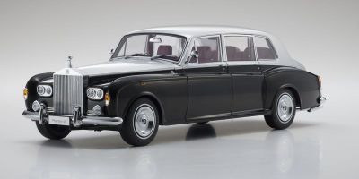 KYOSHO ORIGINAL 1/18scale Rolls Royce Phantom VI (Black / Silver)  [No.KS08905BKS]