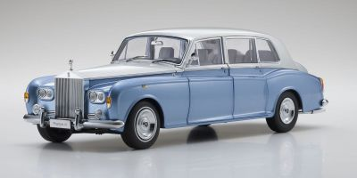 KYOSHO ORIGINAL 1/18scale Rolls Royce Phantom VI (Light blue / silver)  [No.KS08905LBS]