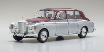 KYOSHO ORIGINAL 1/18scale Rolls Royce Phantom VI (Silver / Red)  [No.KS08905SR]