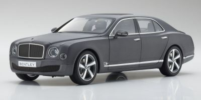 KYOSHO ORIGINAL 1/18scale Bentley Mulsanne Speed Dark Grey Satin  [No.KS08910DGS]