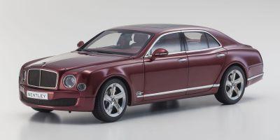 KYOSHO 1/18scale Bentley Mulsanne Speed Rubinho Red [No.KS08910R]