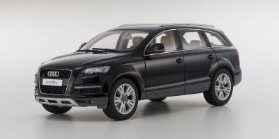 KYOSHO 1/18scale AUDI Q7 Facelift Orca Black [No.KS09222BK]