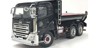 KYOSHO ORIGINAL 1/43scale UD TRUCKS QUON Dump Truck (Black Metallic)  [No.KS67373BK]