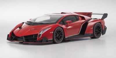 OUSIA 1/18scale Lamborghini Veneno Red Pearl/Red line [No.KSC09501RPR]