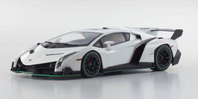 OUSIA 1/18scale Lamborghini Veneno White / Green Line [No.KSC09501WG]