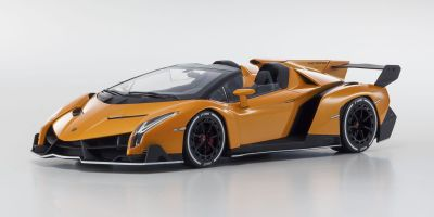 OUSIA 1/18scale Lamborghini Veneno Roadster Orange / White Line [No.KSC09502ORW]