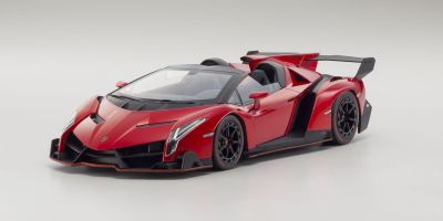OUSIA 1/18scale Lamborghini Veneno Roadster Red Mettalic / Red Line [No.KSC09502RM]