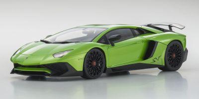 OUSIA 1/18scale Lamborghini Aventador SV Green Pearl  [No.KSC09521G]