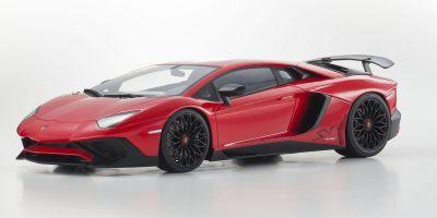 OUSIA 1/18scale Lamborghini Aventador SV (Red)  [No.KSC09521R]