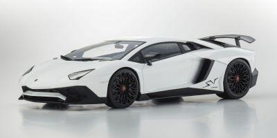 OUSIA 1/18scale Lamborghini Aventador SV White  [No.KSC09521W]