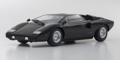 OUSIA 1/18scale Lamborghini Countach LP400 Black  [No.KSC09531BK]