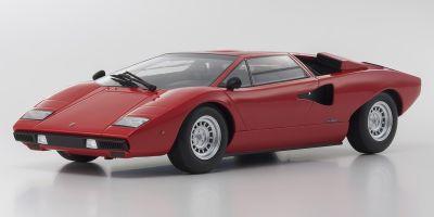 OUSIA 1/18scale Lamborghini Countach LP400 Red  [No.KSC09531R]