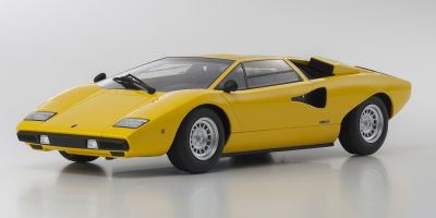 OUSIA 1/18scale Lamborghini Countach LP400 Yellow  [No.KSC09531Y]
