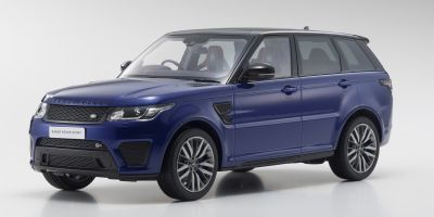 OUSIA 1/18scale Range Rover Sport SVR Estoril Blue  [No.KSC09542BL]
