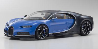 OUSIA 1/18scale Bugatti Chiron Blue/Dark Blue  [No.KSC09548BBK]
