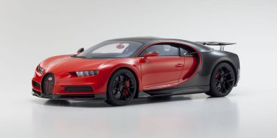 KYOSHO ORIGINAL 1/12scale Bugatti Chiron Sport (Red / Black)  [No.KSR08667R]