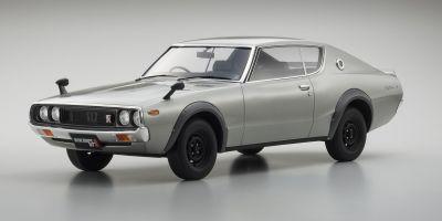 SAMURAI 1/12scale Nissan SKYLINE 2000GT-R KPGC110 Silver [No.KSR12002S]