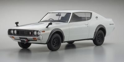 SAMURAI 1/12scale Nissan SKYLINE 2000GT-R KPGC110 White [No.KSR12002W]